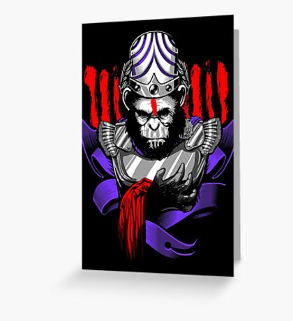 Caesar Zar Zar Greeting Card
