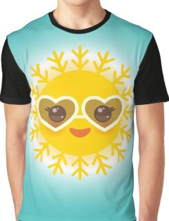 Lovely Sun Graphic T-Shirt
