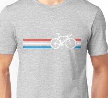 Bike Stripes Luxembourg v2 Unisex T-Shirt