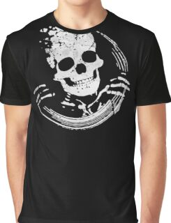 Funny Skull Graphic T-Shirt