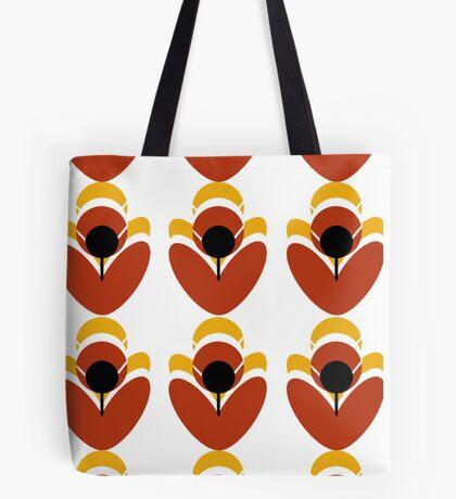 Retro Petal Tote Bag