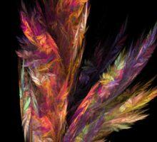 flora color fractal Sticker