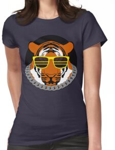 Party tiger Womens Fitted T-Shirt