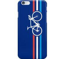 Bike Stripes Luxembourg v2 iPhone Case/Skin