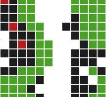 Pixel Yoshi Sticker