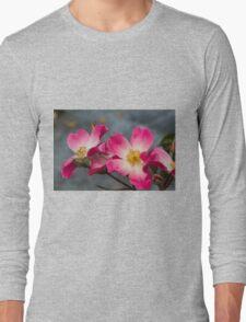 roses in the garden Long Sleeve T-Shirt