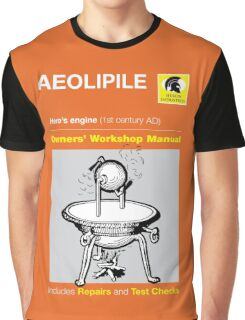 Owners' Manual - Aeolipile - T-shirt  Graphic T-Shirt