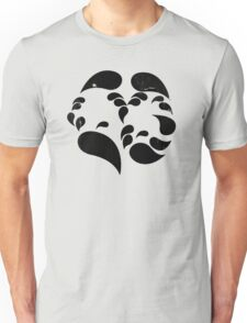 Bipolar Disorder - Many faces (moods) T-Shirt
