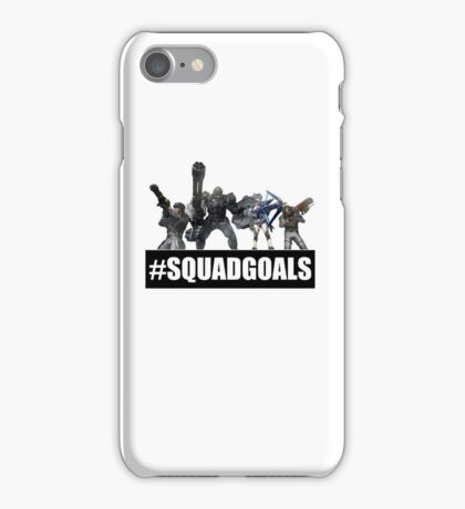 Earth Defense Force Squad Goals #SQUADGOALS Ranger Fencer Wing Diver Air Raider iPhone Case/Skin