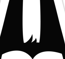 Big Batcat Face Sticker