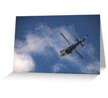 PolAir - Victoria Police Helicopter Greeting Card