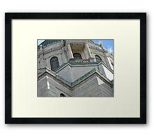 Buffalo Architecture Framed Print