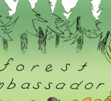 FOREST AMBASSADOR - LEAFY FRIEND Sticker