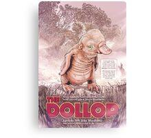 The Dollop - Rum Duck Canvas Print