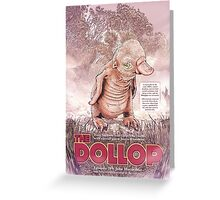The Dollop - Rum Duck Greeting Card