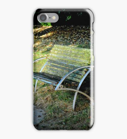 relax and sit down  iPhone Case/Skin