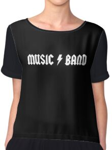 Steve Buscemi's Music Band Chiffon Top