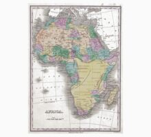 Vintage Map of Africa (1827)  T-Shirt