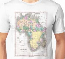 Vintage Map of Africa (1827)  Unisex T-Shirt