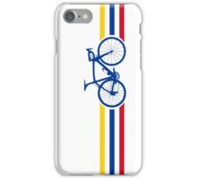 Bike Stripes Colombia v2 iPhone Case/Skin