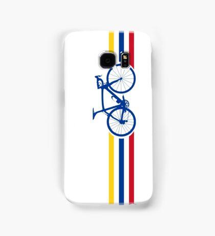 Bike Stripes Colombia v2 Samsung Galaxy Case/Skin