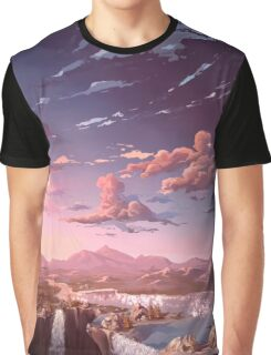 Cascades and Wanders Graphic T-Shirt