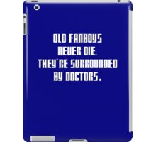 Dr. Who: Fanboys Never Die iPad Case/Skin