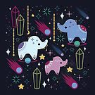 Elephants in Space  by CarlyWatts