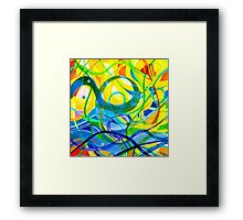 Sea Ribbons Two Framed Print