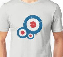 Cracked Mod Circles Unisex T-Shirt