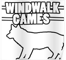 WindWalk Games Alternative Developer Logo Poster