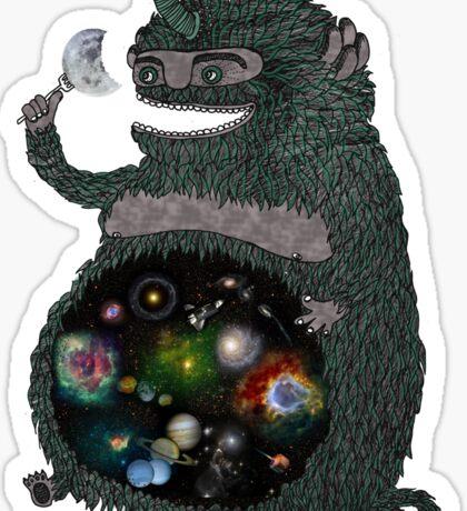 SPACE JUNKIE Sticker