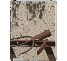 old rake iPad Case/Skin