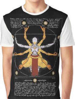 Vitruvian Omnic - color version Graphic T-Shirt