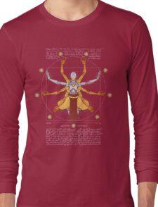 Vitruvian Omnic - color version Long Sleeve T-Shirt