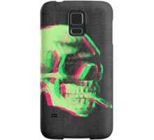 Van Gogh Skull with burning cigarette remixed Samsung Galaxy Case/Skin