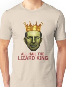 All Hail The Lizard King Unisex T-Shirt