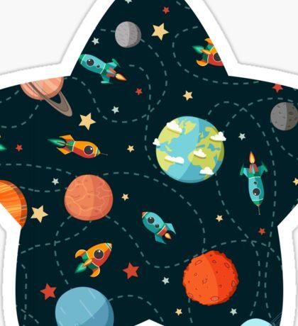Space Adventure Sticker