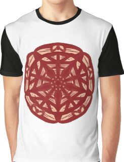 Web Flower  Graphic T-Shirt