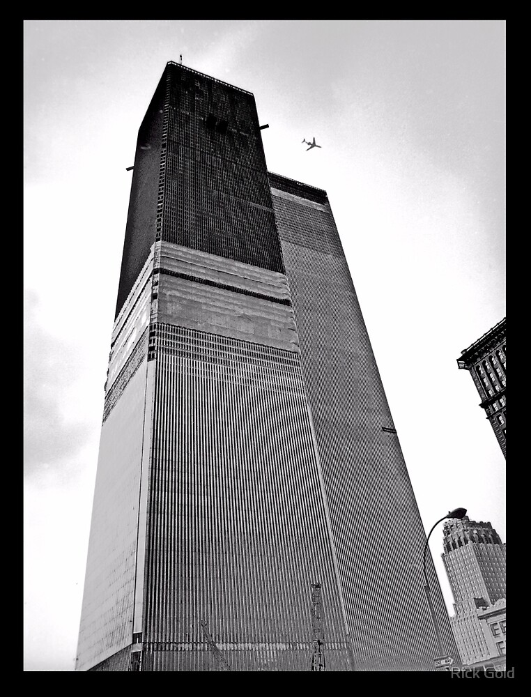 Premonition--World Trade Center 1971 by Rick Gold