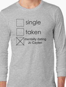 single Jc Long Sleeve T-Shirt