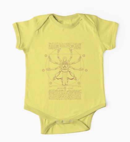 Vitruvian Omnic One Piece - Short Sleeve