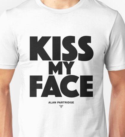 Alan Partridge - Kiss my face Unisex T-Shirt