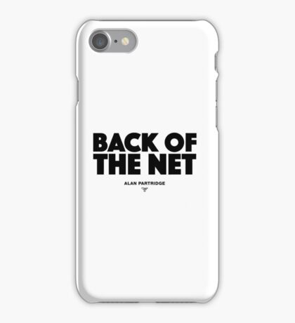 Alan Partridge - Back of the Net iPhone Case/Skin