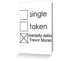 single Trevor Greeting Card