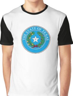 Seal of Texas, State of Texas, America, American, USA, US Graphic T-Shirt