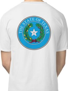Seal of Texas, State of Texas, America, American, USA, US Classic T-Shirt