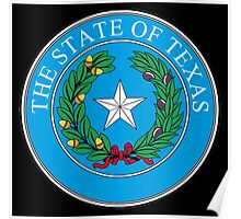 Seal of Texas, State of Texas, America, American, USA, US Poster