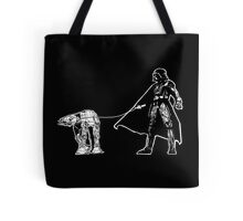 Darth Vader Walking ATAT Tote Bag