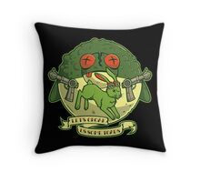 The Righteous Indignation of Captain O'Hare Throw Pillow